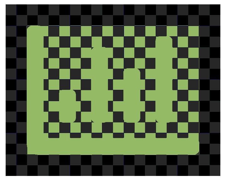 chart green