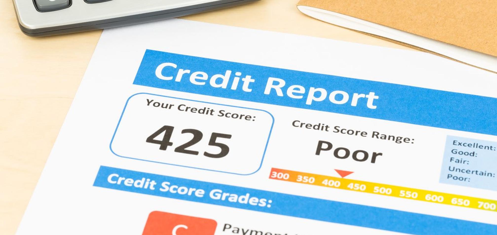 poor credit